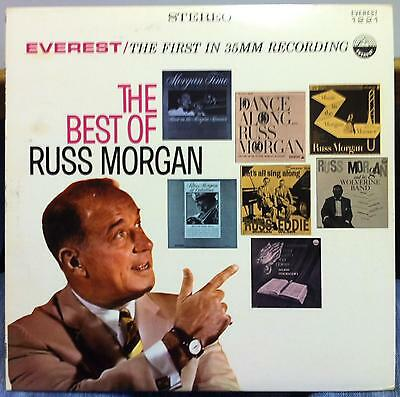 RUSS MORGAN the best of LP Mint- SDBR 1221 Vinyl Everest Stereo Record