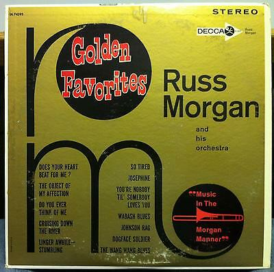 Russ Morgan - Golden Favorites LP VG+ DL 74292 Decca USA 1963 Stereo Record