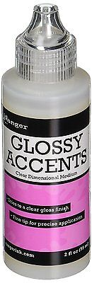 Ranger Inkssentials Glossy Accents Precision Tip, 2-Ounce
