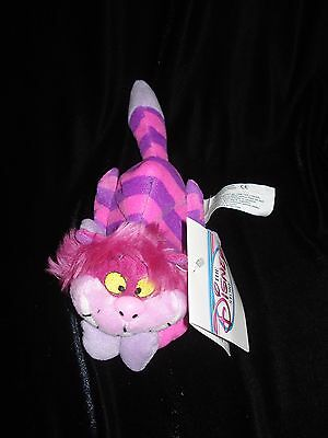 The Disney Store CHESHIRE CAT BEAN BAG Alice In Wonderland new with tags