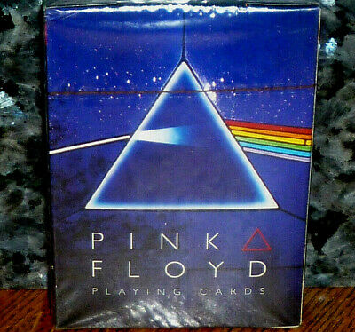 """*<* Stunning Mib Pink Floyd """"dark Side Of The Moon"""" Sealed Deck 52 Playing Cards"""
