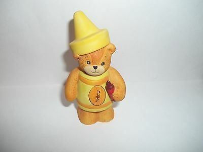 """Lucy Rigg~Lucy and Me Bear """"Yellow Crayon"""""""