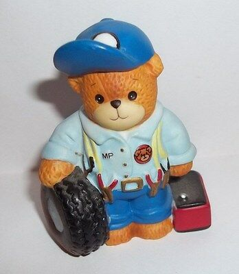 """Lucy Rigg~Lucy and Me Bear """"Mechanic"""" Auto Car"""