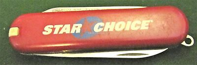 Victorinox Escort Red Star Choice Cable Tv Exc Retired Model