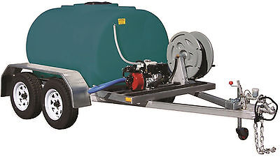 Rapid Spray 1200L Fire Marshal Fire Scout Fire Fighting Trailer - On Road