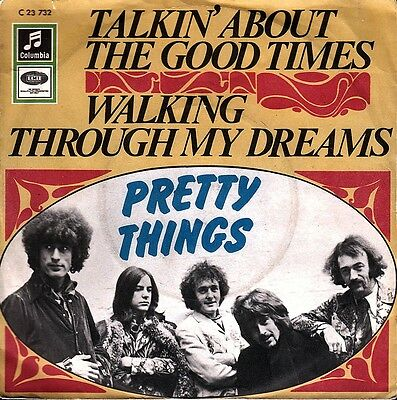"""PRETTY THINGS: Talkin´ About The Good Times (´68 / scarce orig. German 7"""")"""