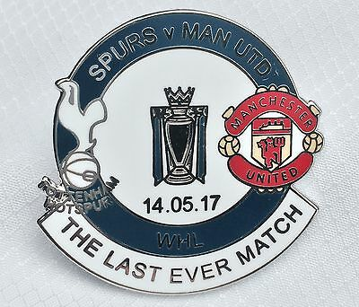 Last Ever Match Matchday Badge At WHL 14/05/17 Mint Condition