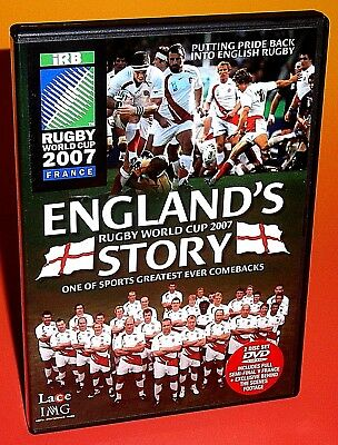 Rugby World Cup 2007 - England's Story  ( 2 Disc Dvd )  New & Sealed