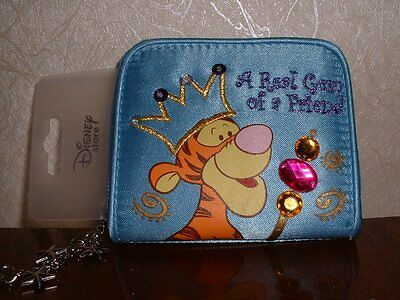 Disney Store Tigger Gem of a Friend Blue Purse NEW!