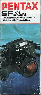 Pentax SFXn Photography Guide Book