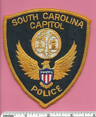 South Carolina SC State Capitol Police Law Enforcement Patch