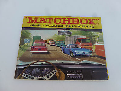 Ancien Catalogue Matchbox De 1969 Echelle Majorette