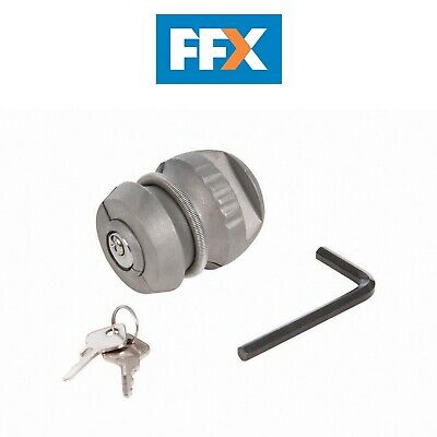 Silverline 107667 Trailer Hitch Lock 50mm Dia Ball Coupling