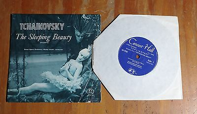 "'The Sleeping Beauty TCHAIKOVSKY' Walter Goehr 7"" vinyl single Concert Hall M996"