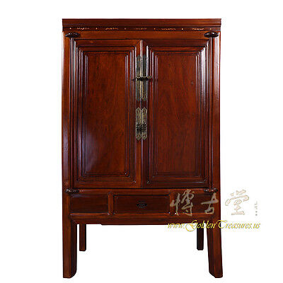 Chinese Antique Carved NingBo TV Armoire 17LP20