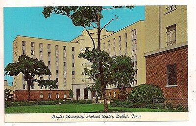 Baylor University Medical Center, Dallas TX Postcard 052417