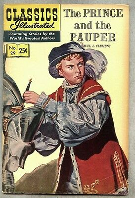 Classics Illustrated #29-1968 vg+ 14th edition Clemens Prince and the Pauper