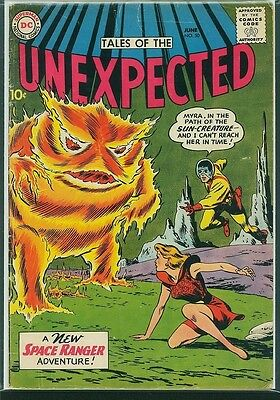 Tales of The Unexpected #50 1960 DC -New Space Ranger Adventure- G+