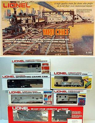 Mpc Lionel 1502 New York Central Yard Chief Set -  0/027 - Mint -