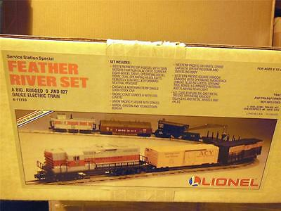 New Lionel 11733 Western Pacific Feather River Set-  Mint- W1