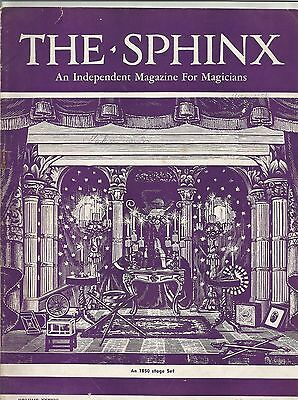 Collection of The Sphinx An Independent Magazine for Magicians 1940 & 1941