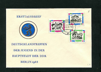 DDR  Nr. 1022 - 1024  FDC  Jugend    (EB-18)