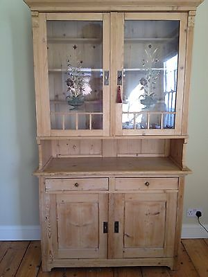 Antique Dutch Pine Dresser Unique