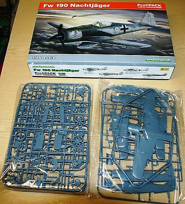Fw 190A Nightfighter in 1/48 von Eduard Profipack