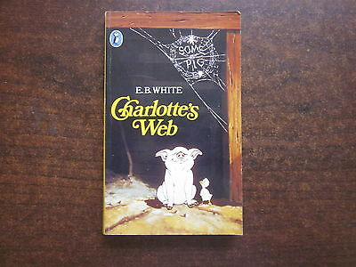 CHARLOTTE'S WEB by E.B. White 1985 Puffin Paperback Book