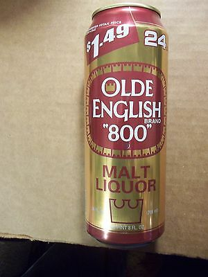 24 oz.  Olde English 800 Malt Liquor Beer Can    $1.49 Suggested Retail Price