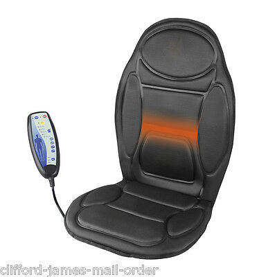 Heated Massage Chair Back Cushion | Relaxing Seat Massager For Car Home Office