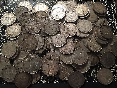 1919-C Newfoundland 50 Cents Silver (Many Available) Circulated (1 Coin Only!)