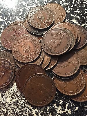 1919-C Newfoundland Large Cent (Many Available) Circulated (1 Coin Only!)