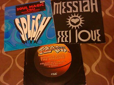 Job Lot Old Skool Breakbeat House Downtempo Etc - Good Record Collection - Vinyl