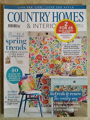 Country Homes & Interiors magazine March 2016