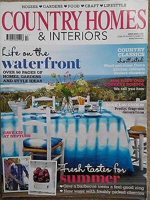 Country Homes & Interiors magazine July 2013