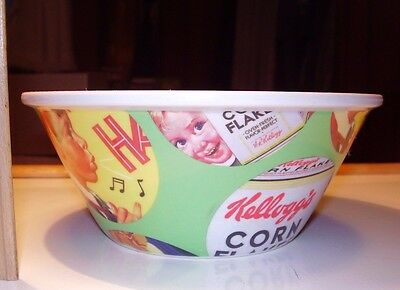 2010 Kelloggs Corn Flakes Collectible Cereal Bowl vintage advertising RARE HTF