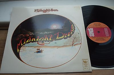 Midnight Sun Midnight Dream 1ST PRESS! EX/EX TOP AUDIO! 1974 DENMARK SONET LP