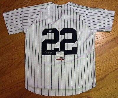 Roger Clemens Signed Autographed Auto New York Yankees Jersey Psa/dna #w49091