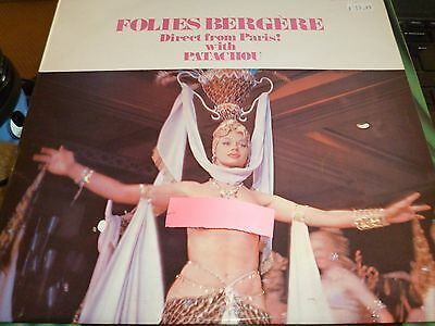 Folies Bergère Direct From Paris! with Patachou Vinyl LP RCA INTS1069 15/9
