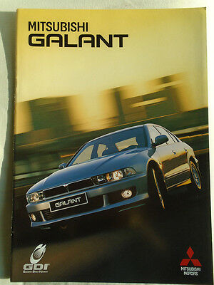 Mitsubishi Galant brochure Jun 1999 German text