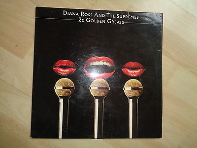 "Diana Ross And The Supremes - 20 Golden Greats 12"" Lp Vinyl Record"