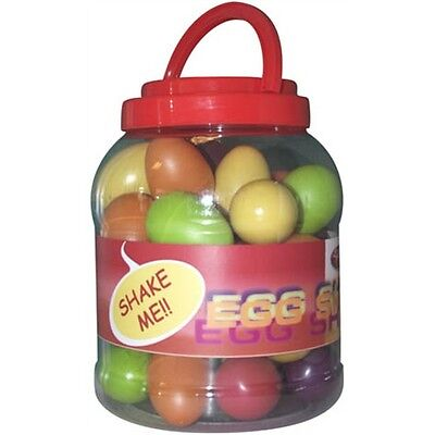 Stagg Multicoloured Egg Shakers - Box of 40