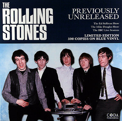 The Rolling Stones - Previously Unreleased (Limited Blue Vinyl LP) New & Sealed