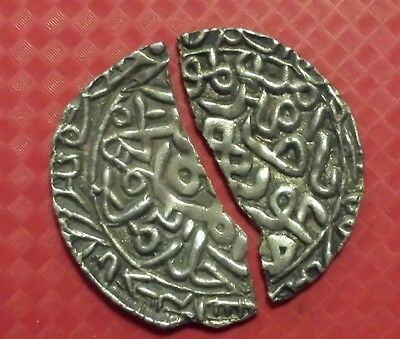 Scarce BENGAL SULTAN Silver Broken  Coin . GREAT BARGAIN. !!!