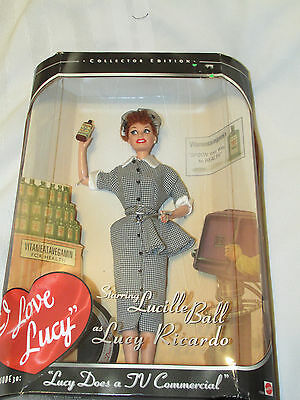 New Mattel I Love Lucy Barbie Doll Lucy Does a TV Commercial Eps 30 17645