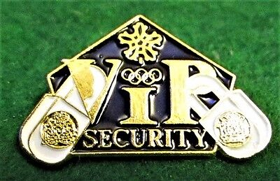 1988 Olympics VIP Security RCMP & CALGARY CITY POLICE LOGOS MINT Pin