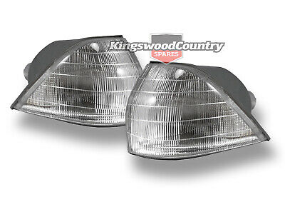 Holden VL Front Indicator Light Pair Left + Right NEW corner lens