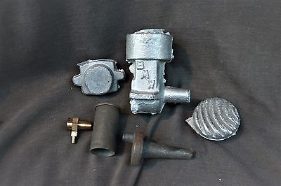 Rare BMW Racing Engine Casting Kit Model Airplane Control Speed Tether Race Car