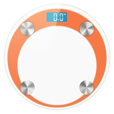 SOGA 180kg Digital Fitness Weight Bathroom Gym Body Glass LCD Electronic Scale